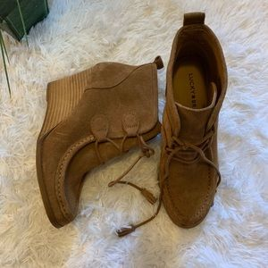 Lucky Brand booties size 8